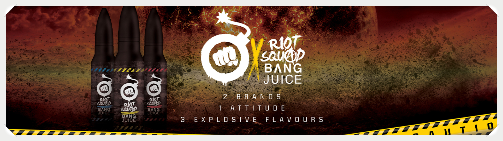 Riot Squad Bang Juice Liquid Helden