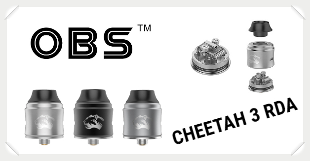 OBS Cheetah 3 RDA Liquid Helden
