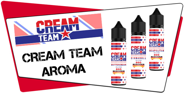 Cream Team Aroma Liquid Helden