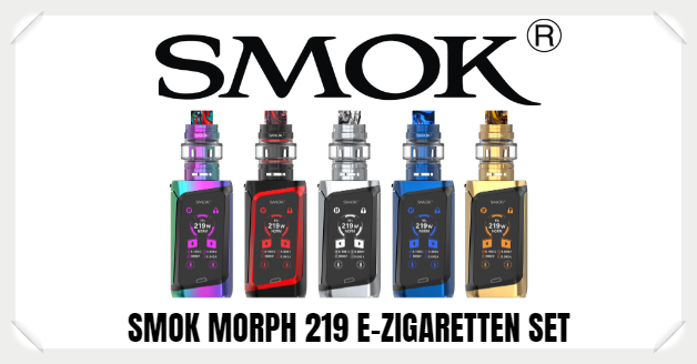 Smok Morph 219 Set Liquid Helden