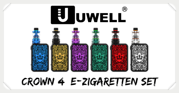 Crown 4 E Zigaretten Set Set Liquid Helden