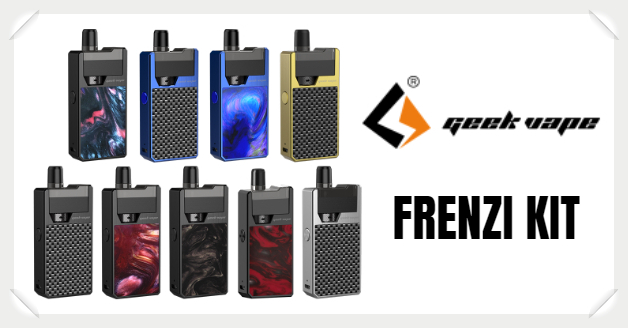 GeekVape Frenzy E-Zigaretten Set Liquid Helden