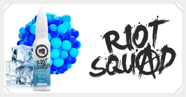 Riot Squad Bubble Gum Liquid Helden