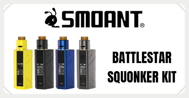 Smoant Battlestar Squonker Kit Liquid Helden