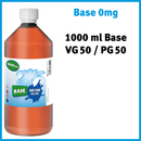 1000ml Base 50 VG / 50 PG